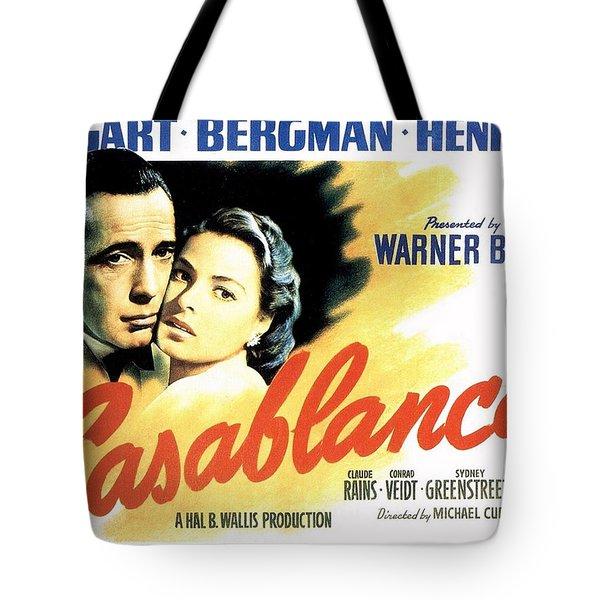 Casablanca Tote Bag by Movie Poster Prints