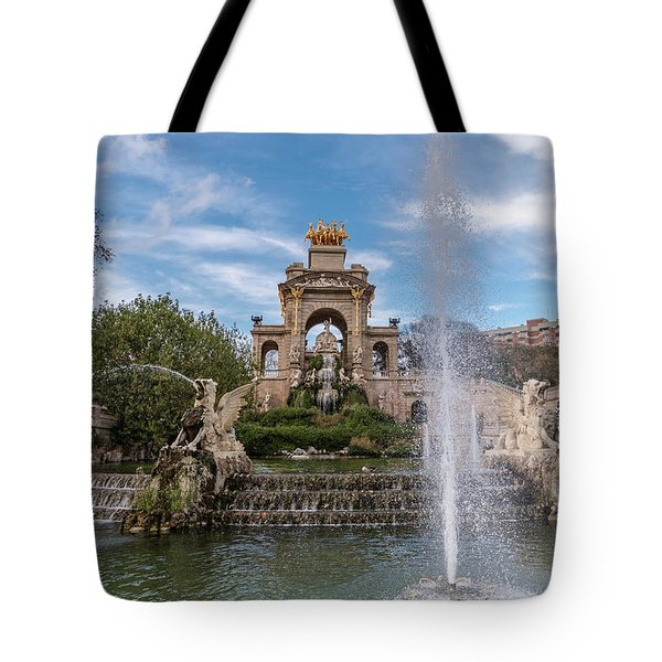 Cascada Monumental Tote Bag by Randy Scherkenbach