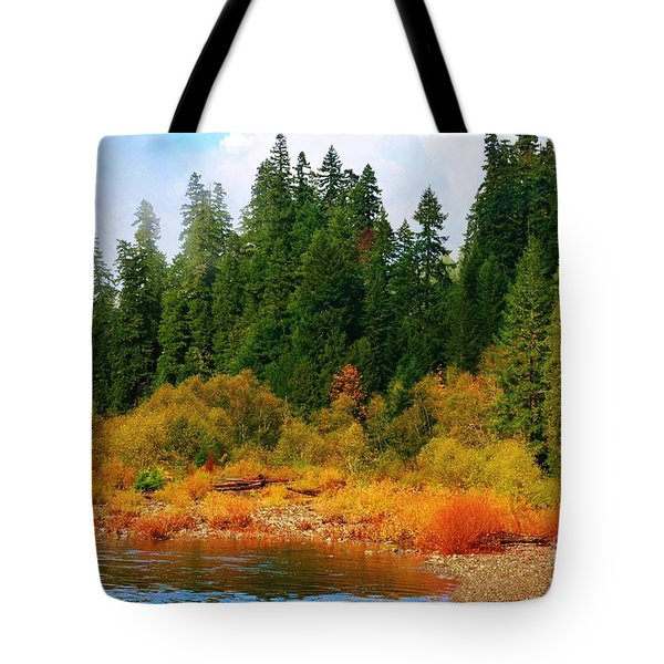 Cascade Autumn Tote Bag