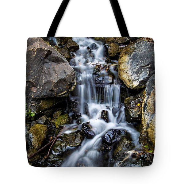 Tote Bag featuring the photograph Cascade by Keith Hawley