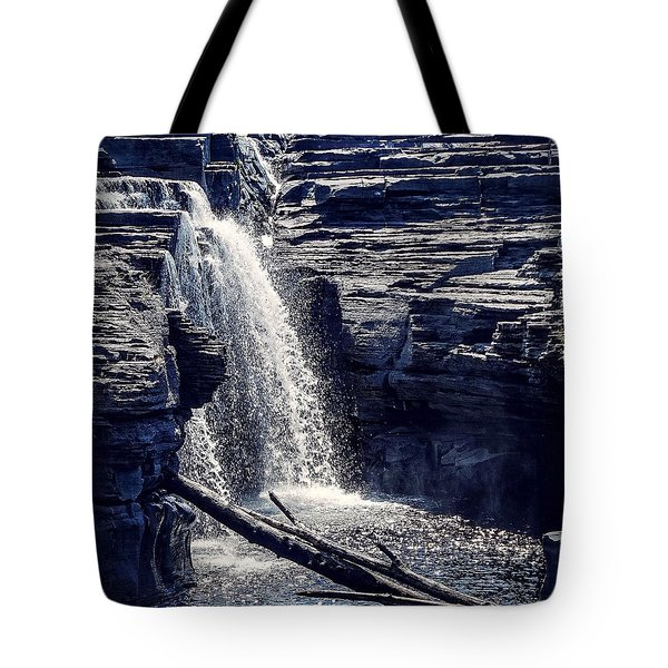 Tote Bag featuring the photograph Cascade by Kendall McKernon