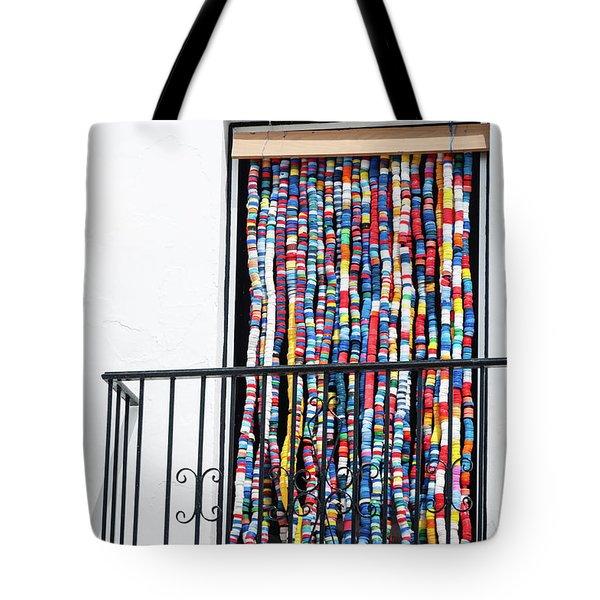 Cascade Of Colour Tote Bag