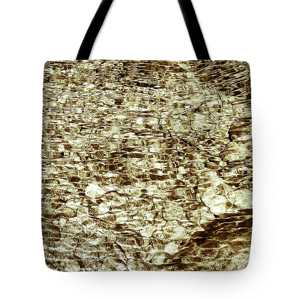 Tote Bag featuring the photograph Cascade Reflections by Tom Vaughan