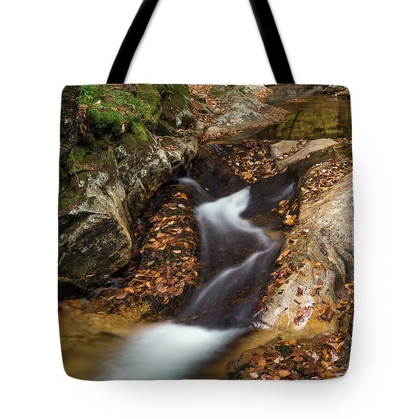 Tote Bag featuring the photograph Cascade by Sharon Seaward