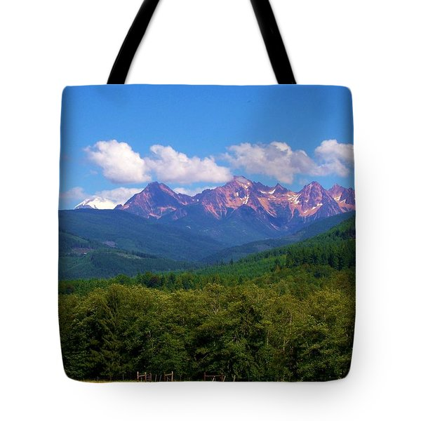Cascade Sisters Tote Bag