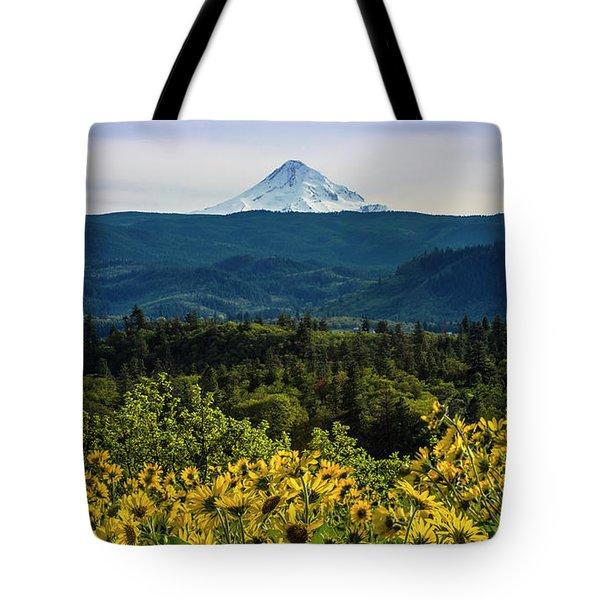 Cascade Spring Tote Bag