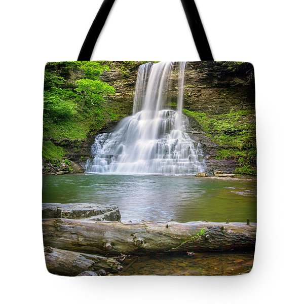 Cascades Falls Giles County Tote Bag