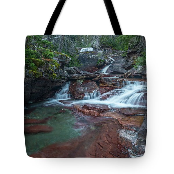Tote Bag featuring the photograph Cascades by Gary Lengyel