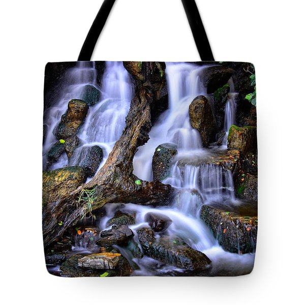 Tote Bag featuring the photograph Cascades by Harry Spitz