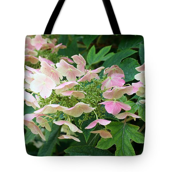 Tote Bag featuring the photograph Cascading  by Ellen Tully