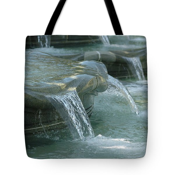 Cascading Fountain Tote Bag