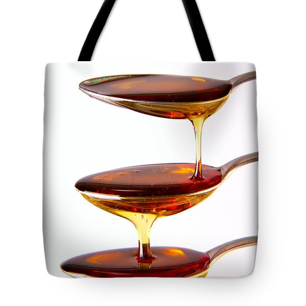 Tote Bag featuring the photograph Cascading by Gert Lavsen
