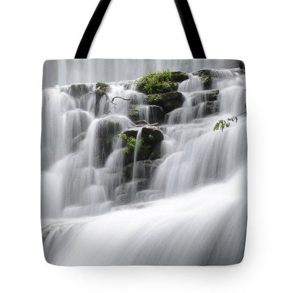 Cascading Mirror Lake Falls Tote Bag