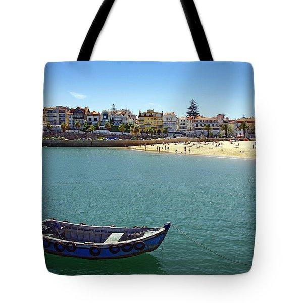 Cascais Tote Bag by Carlos Caetano