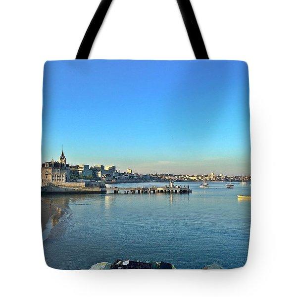 Cascais Marina Tote Bag
