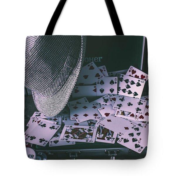 Case Of A Gambling Pro  Tote Bag