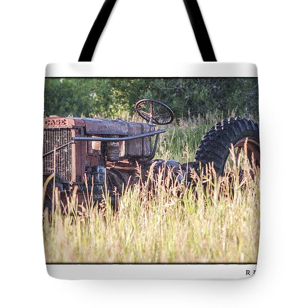 Tote Bag featuring the photograph Case by R Thomas Berner