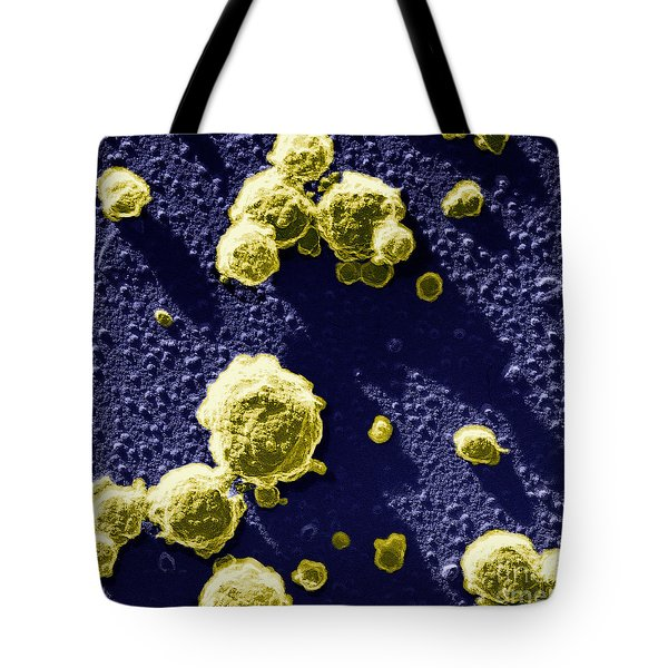 Casein Micelles Tote Bag by Scimat