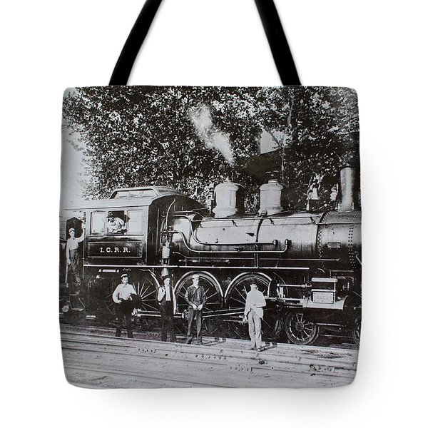 Casey Jones Engine  Tote Bag