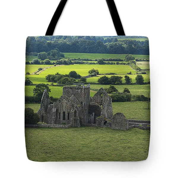 Tote Bag featuring the photograph Cashel Hore Abbey by Enrico Pelos