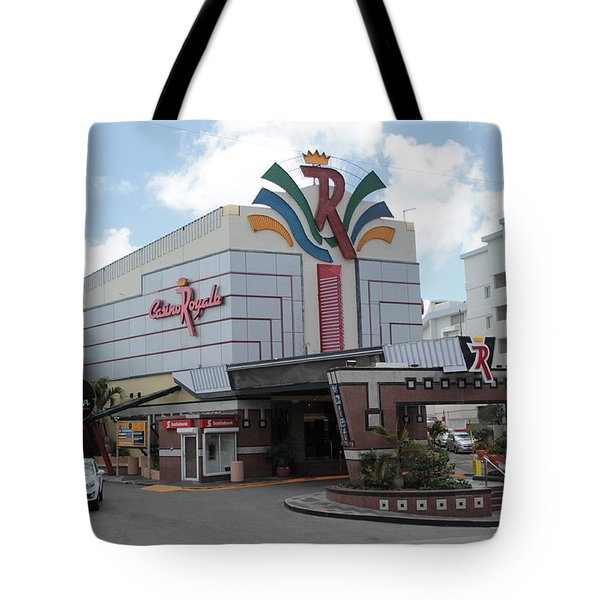 Casino Royale St. Maarten Tote Bag