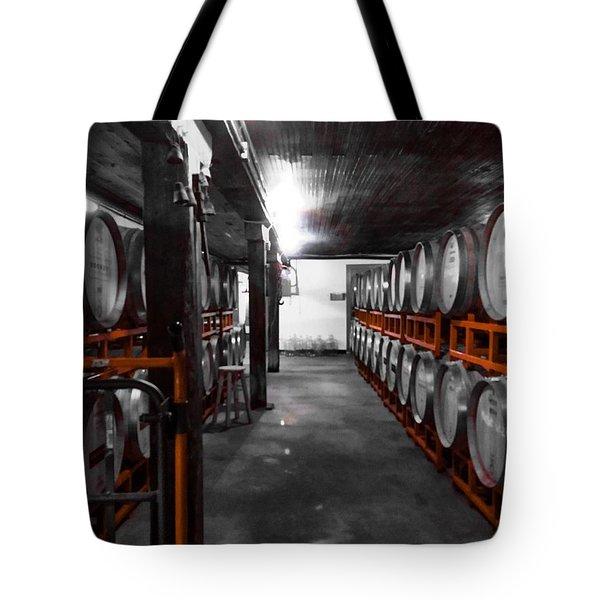 Casks Of Wine Tote Bag