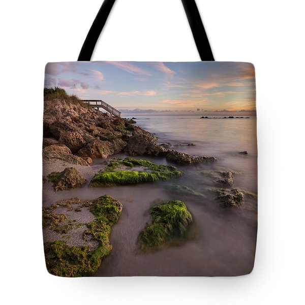 Caspersen Beach Sunset 2 Tote Bag