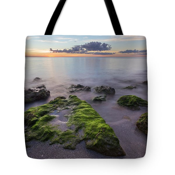 Caspersen Beach Sunset Tote Bag