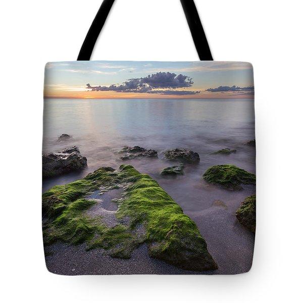 Caspersen Beach Sunset Tote Bag