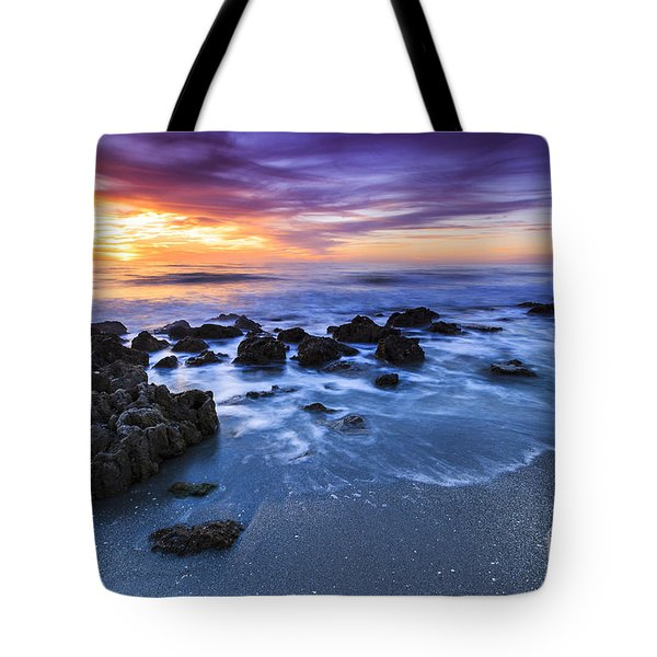 Casperson Beach Sunset 2 Tote Bag