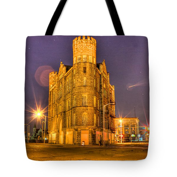 Cass Castle Detroit Mi Tote Bag