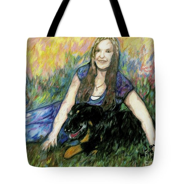 Cassandra And Casey Tote Bag