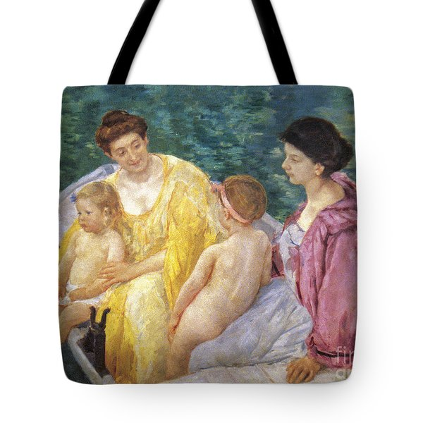 Cassatt: The Swim, 1910 Tote Bag by Granger