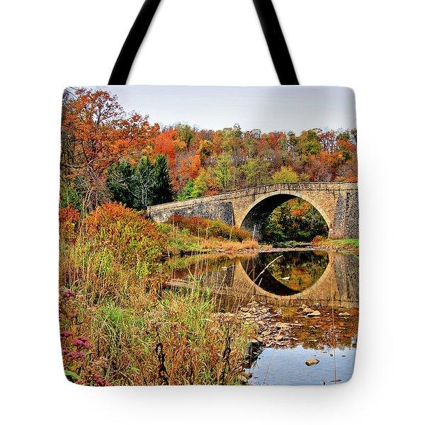 Casselman River Bridge Tote Bag