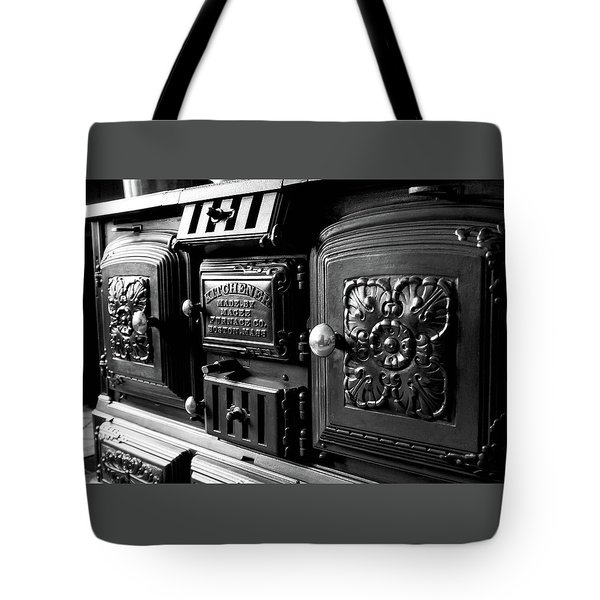 Tote Bag featuring the photograph Cast Iron Character by Greg Fortier