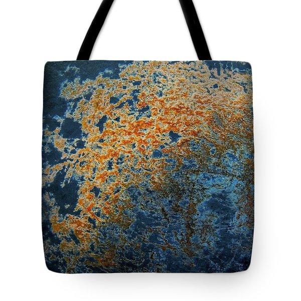 Cast Iron Nebula Tote Bag