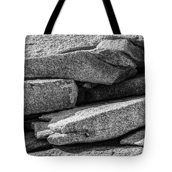 Coastal Rock I Tote Bag