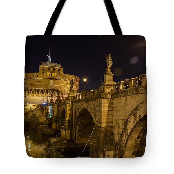 Castel Sant'angelo Tote Bag