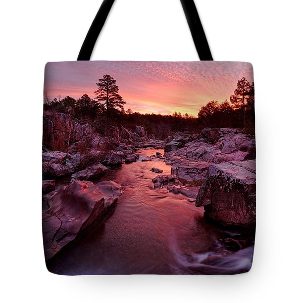 Caster River Shutins Tote Bag by Robert Charity