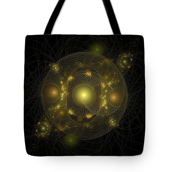 Tote Bag featuring the digital art Casting Nets For Pearls by Richard Ortolano