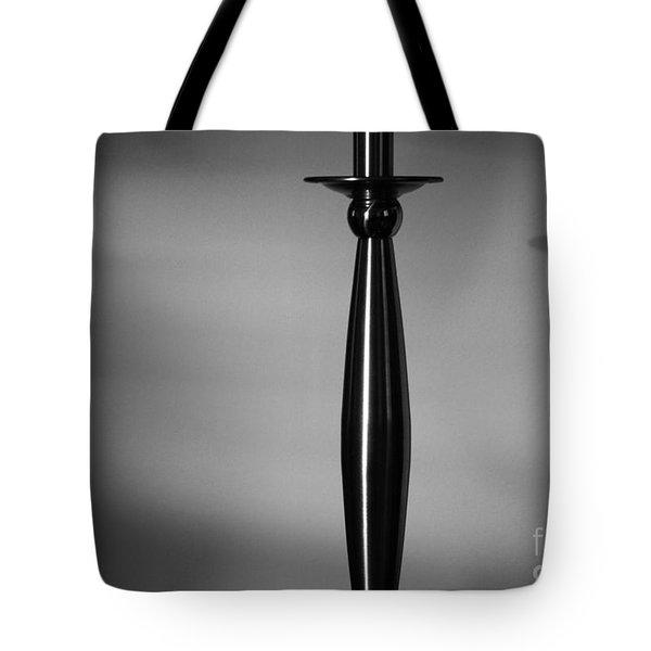 Casting Shadows - Bw Tote Bag