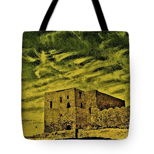 Castle Aswan Tote Bag