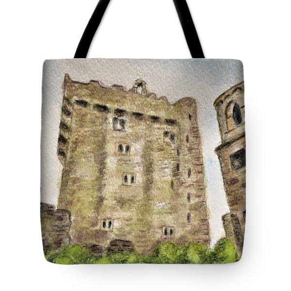 Castle Blarney Tote Bag