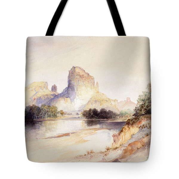 Castle Butte, Green River, Wyoming Tote Bag