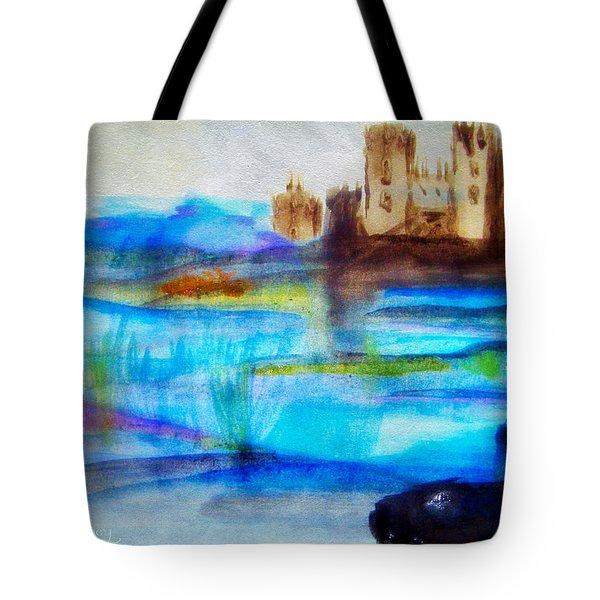 Castle By Colleen Ranney Tote Bag