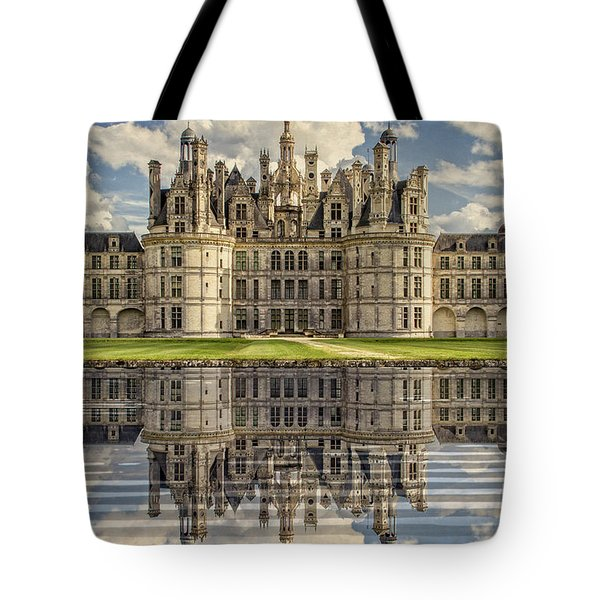 Tote Bag featuring the photograph Castle Chambord by Heiko Koehrer-Wagner