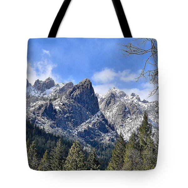 Castle Crags Tote Bag