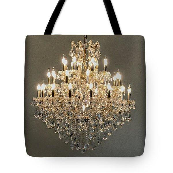Castle Dining Room Tote Bag