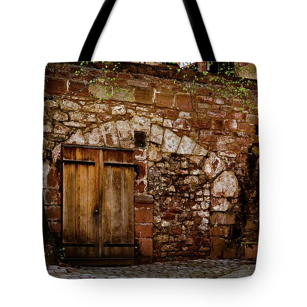 Castle Doors Tote Bag by Jill Smith
