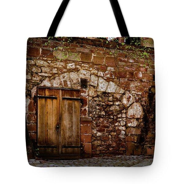 Castle Doors Tote Bag